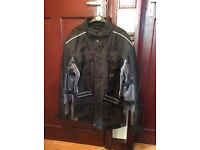 Men's size m jacket large trousers