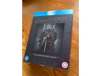Game of thrones series one bluray