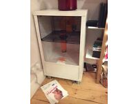 Quality Hamster home! Omlet Qute unit with storage