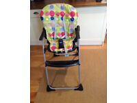 Chicco Happy Snack Highchair