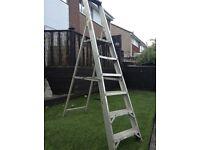 Step ladders folding 2m aluminium