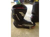 Motorcycling boots