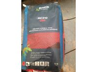 Tile adhesive Bostik MC310 one part flexible wall and floor (grey)