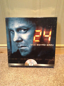 24 DVD board game (from TV) --unopened and in original package
