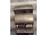 Cash register / shop till vintage heavy duty metal collection Hendon nw4
