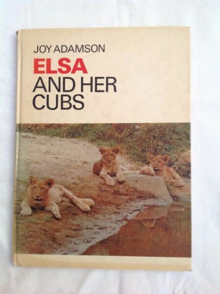 Elsa and her cubs joy adamson other gumtree classifieds south elsa and her cubs joy adamson fandeluxe Images