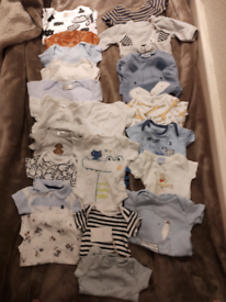 Baby clothes, 2 huge bundles newborn, 0-1 and 0-3