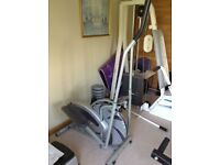 Cross trainer gym equipment