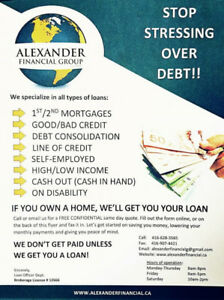 AFG-1st,2nd & 3rd Mortg. /Refinance/Equity Loans/Consolidations
