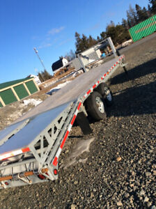 GOOSE NECK GALVANIZED TRAILER