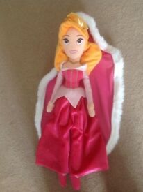 Sleeping Beauty soft doll