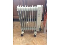 Oil filled radiator 2kw (new)