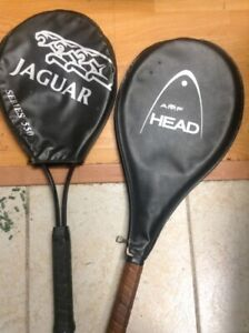 Two tennis rackets pro series.