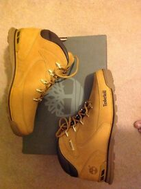 Mens timberland wheat boots