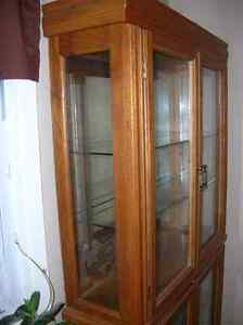 PRISTINE DISPLAY CABINET FOR DINING ROOM OR GENERAL WITH LIGHTS Kitchener / Waterloo Kitchener Area image 6