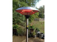 2.1kw firefly tilting freestanding patio heater