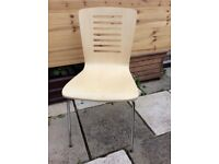 Brand New - Modern BEECH Laminate CHAIR