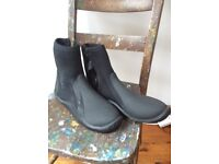 Zip booties - large men's