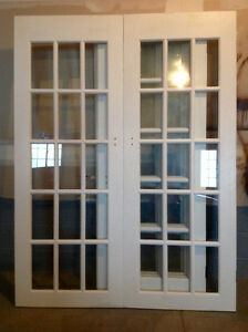 Inside French Doors