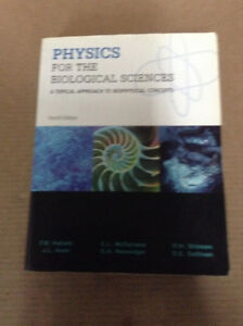 Physics for The Biological Sciences: A Topical Approach