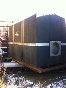 75KW walk in enclosed generator with all switch gear, transforme
