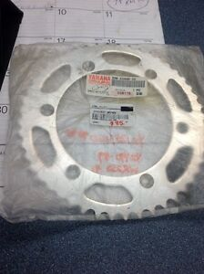 OEM Aluminum sprocket for Yamaha YZ125/250