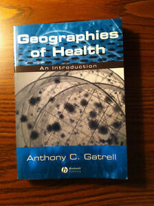 Geographies of Health: An Introduction $20 obo