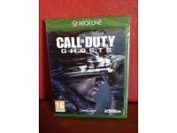 Xbox 1 cod ghosts brand new £12