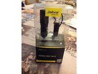 Jabra - Hands free calls ear piece and charger