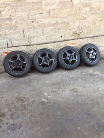 VW Polo mk2 alloy wheels