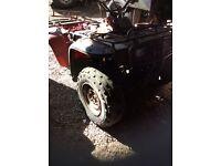 Honda big red 4x4 300cc for spares/repairs