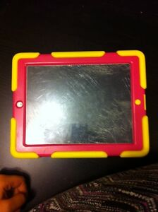 Cracked iPad 2 with otter box case
