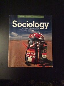 Sociology 4e textbook Windsor Region Ontario image 1