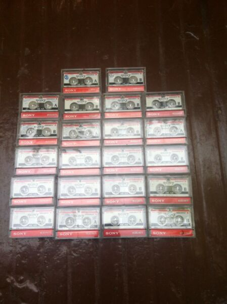 Used SONY MC 60 120 mins (60 mins each side) audio Recording Micro Cassette Tapes.