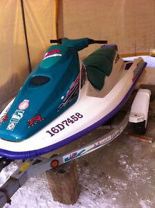 Motomarine Seadoo GTS + Remorque