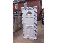 Brand new UPVC door