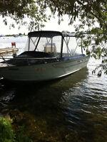 Princecraft fishing boat aluminium body 23 feet