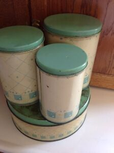 Vintage canister set. Perfect for a country looking kitchen.  Belleville Belleville Area image 3