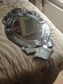 Large Oval Laura Ashley Venetian Mirror