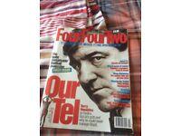 Football magazine.