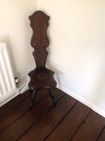 Vintage spinning stool