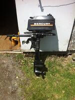 Mercury 3.5 hp 2 temps 350$