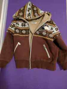 Used  8-9 yr Spring Winter Zipper Hooded  Coat Outerwear Jacket Kitchener / Waterloo Kitchener Area image 1