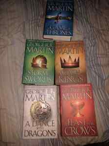 Game of Thrones hardcover complete set