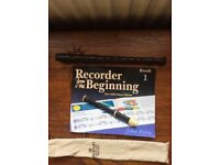 Recorder & Music Book