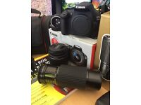 Canon 1200d camera kit, extra lenses, bag & New Dummies book on the Camera, UV filter + Tripod.
