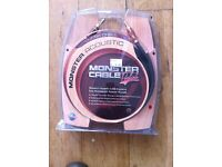 Monster Acoustic Guitar Cable 21-feet Brand New