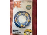 Despicable Me' Minnion Swim Ring (brand new)