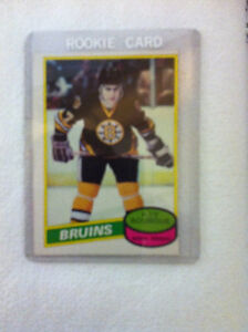 1980 o-pee-chee Hockey #140 Ray Bourque Rookie Card