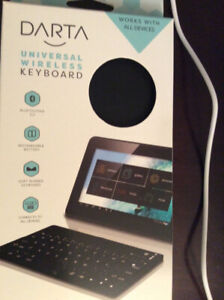 Bluetooth wireless keyboard for tablet ipad